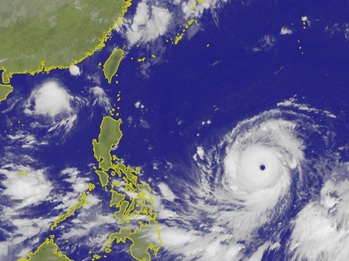 雙颱風來勢洶洶 「山竹」或成今年風王