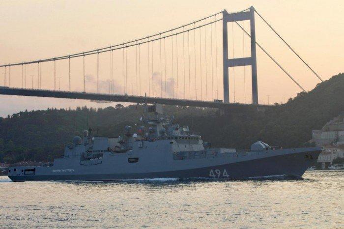 俄羅斯地中海演習結束