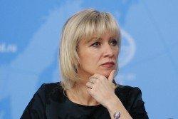 俄羅斯外交部發言人扎哈羅娃(檔案照)