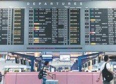 4月22日起,外國人從新加坡離境時,邊檢人員不再在他們的 護照上蓋離境印章。