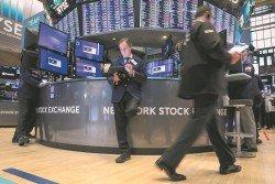 美股上揚,道指曾漲184點觸及26695點。
