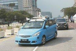 5G科技是未來的趨勢,備受矚目的無人駕駛汽車將採用5G科技來進行操作。