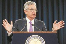 鮑威爾:「美國經濟現在處境很好,目前失業率處于低位,物價接近2%的通貨膨脹率,所以我們現在處境很好。」