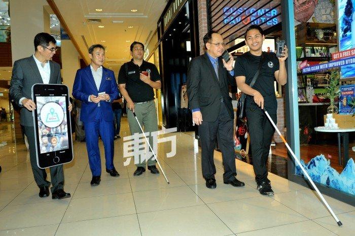 室內導航助視障者安心踏步