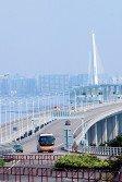 連接香港和深圳的深圳灣大橋出現鋼纜鏽蝕折斷需要更換,但大橋結構安全,仍可行車。