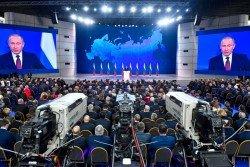 針對美俄或爆發軍備競賽,普京週三透過國情咨文發表最強硬言論。