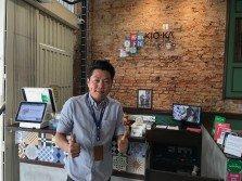 劉佑陞,橋下麵館創辦人。