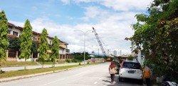 吉隆坡市政局勸請民眾勿貪一時之快,而冒險闖入工程路段。