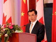 中國駐加拿大大使盧沙野。