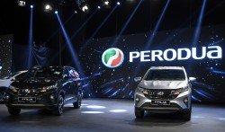 大馬第二國產車(Perodua)週二晚正式推介新款SUV休旅車Perodua Aruz,兩款車型售價分別為7萬2900令吉(1.5公升)及7萬7900令吉(1.5公升進階版)。