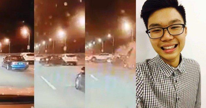 檳大橋車禍墜海 20歲華裔司機生死未卜
