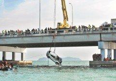 檳城大橋轎車墜海案,引起全國人民關注。