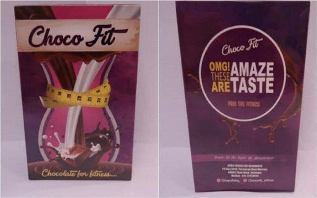 """一名30多岁新加坡女子服用名为""""Choco Fit""""的减肥药后,出现心悸情况。(新加坡卫生科学局提供)"""