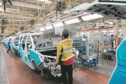 中國1月至2月規模以上工業增加值按年增長5.3%,不及預估。