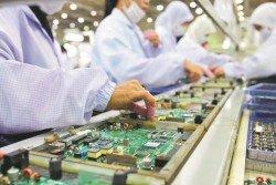 大馬電子和電器領域已經開始進入下跌週期,因此今年全年的IPI指數預計緩和增長。