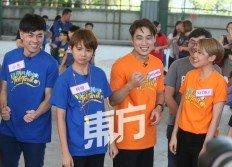 《Durian, Kaya, Teh Tarik》主持人陳慧恬和謝承偉兩位主持人大讚嘉賓郭曉東和賴 淞鳳很能玩,與民眾打成一片,令場面更加Funny!(攝影:連國強)