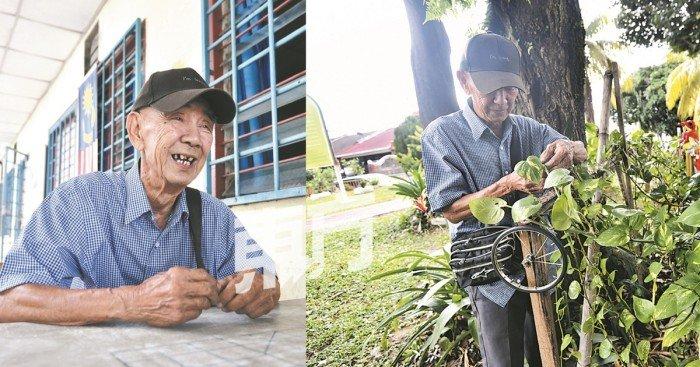 【老師心故事】放下教鞭20年 張仙財樂當園藝工