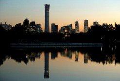 近年來,中國地方政府的財政普遍上捉襟見肘,連北京市當局也向中央求助。圖為在北京高樓林立的中央商務區(CBD)。