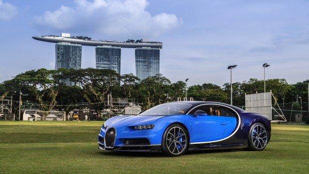 【汽車】東南亞第一輛Bugatti Chiron交付新加坡