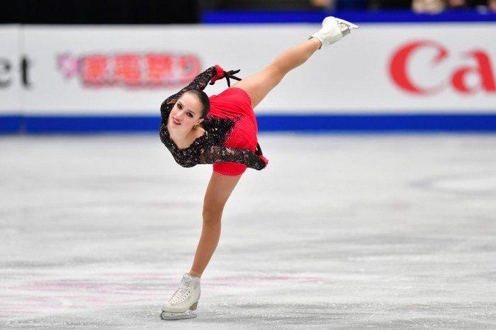 【花滑世錦賽】扎吉托娃奪女單冠軍