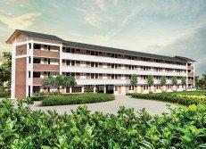 新廊華小665萬令吉地稅問題有望解決。圖為新廊華小校舍設計圖。