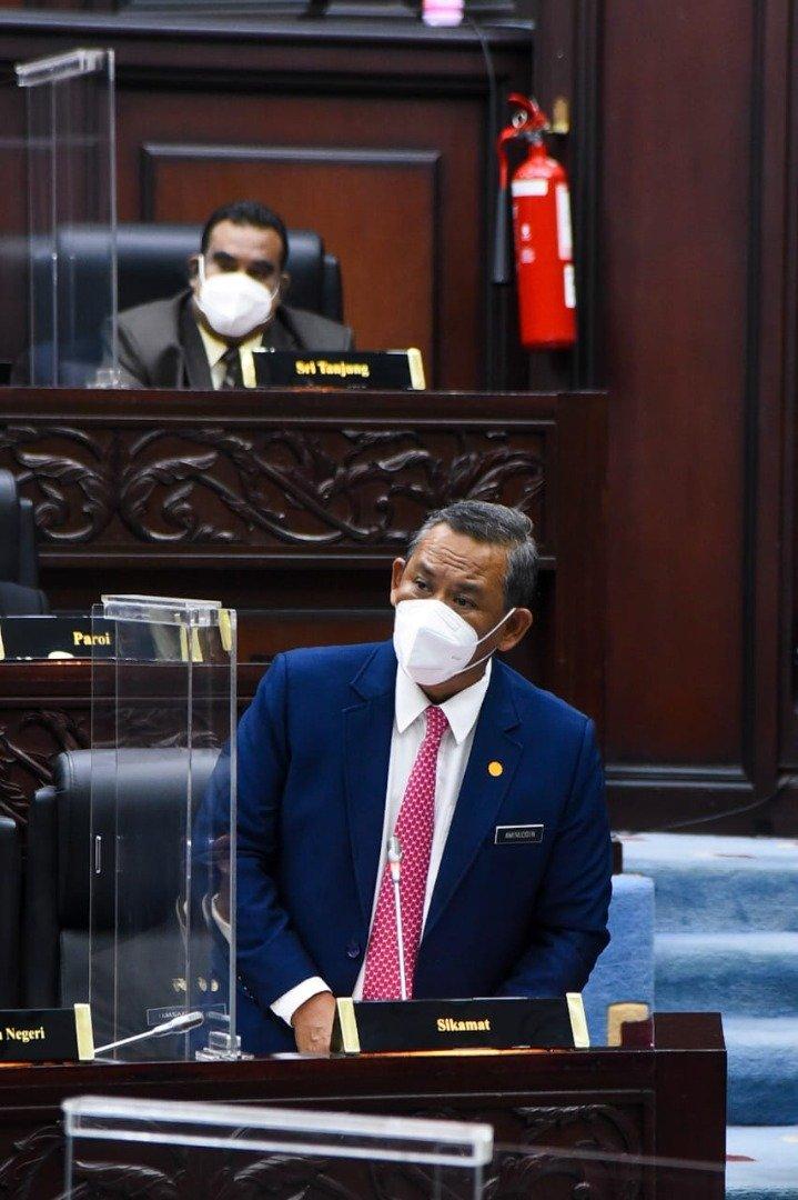 阿米努丁仍然获得希盟成员党的支持,继续担任森州大臣。