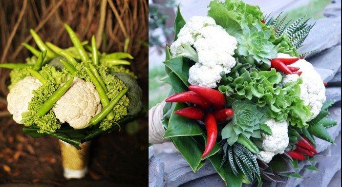 色彩繽紛 日本新娘捧花可以吃