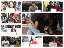 當全城歡慶父親節時,讓我們一起走訪移工假日主要聚集地——吉隆坡市中心,請他們寫下給遠方父親的寄語,希望能讓更多人看到他們的另一面。