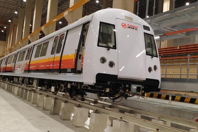 新加坡捷运。(图取自互联网)