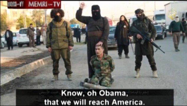 「我们会到白宫砍下你的头」 ISIL威胁斩首奥巴马