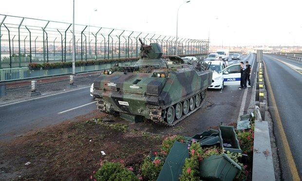 土耳其军事政变演进表