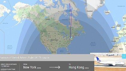 联合航空一班原定由美国纽约返港的航机,疑因雷达出问题,在起飞数小时后被迫折返当地机场。