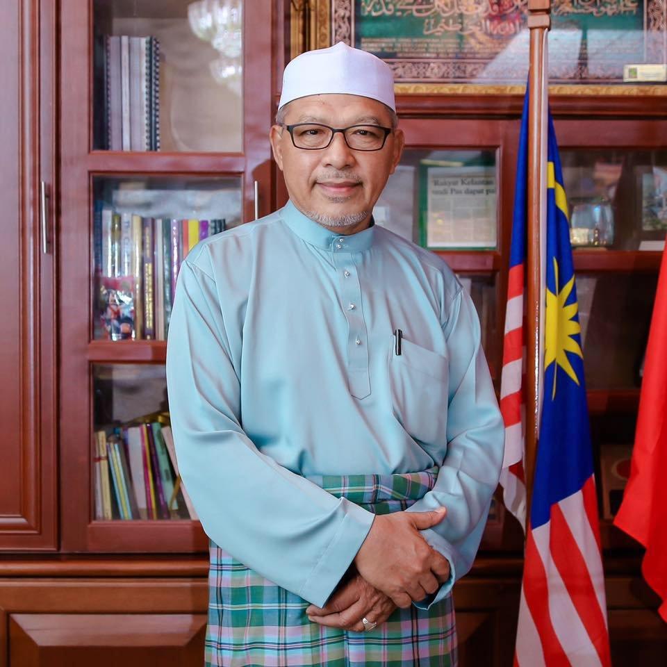 吉兰丹州务大臣拿督阿末耶谷。