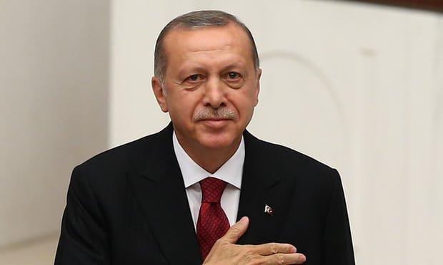 土耳其总统艾尔段(Recep Tayyip Erdogan)。