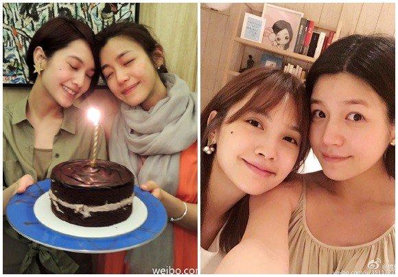 杨丞琳和陈妍希是相识多年的好姐妹。