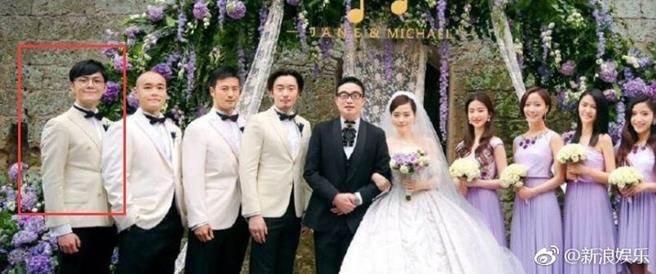 张靚颖新欢被爆是曾担任她婚礼的伴郎。