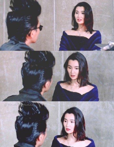 张曼玉1992年和周星驰合拍电影《家有喜事》