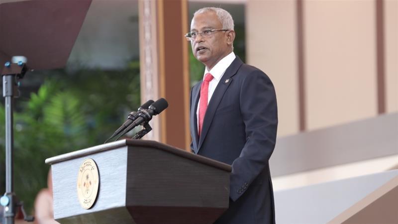 马尔代夫的新任总统索利