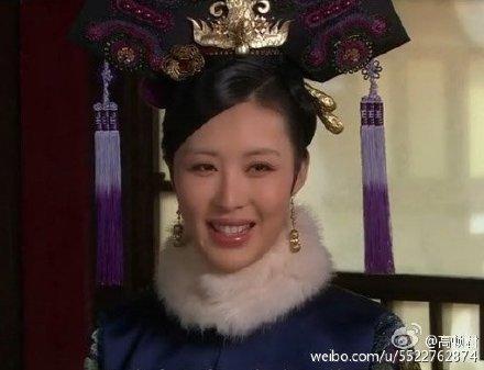 田朴珺在《甄嬛》中演敦亲王福晋。