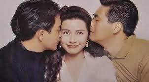 钟楚红曾与张国荣和周润发主演经典电影《纵横四海》。