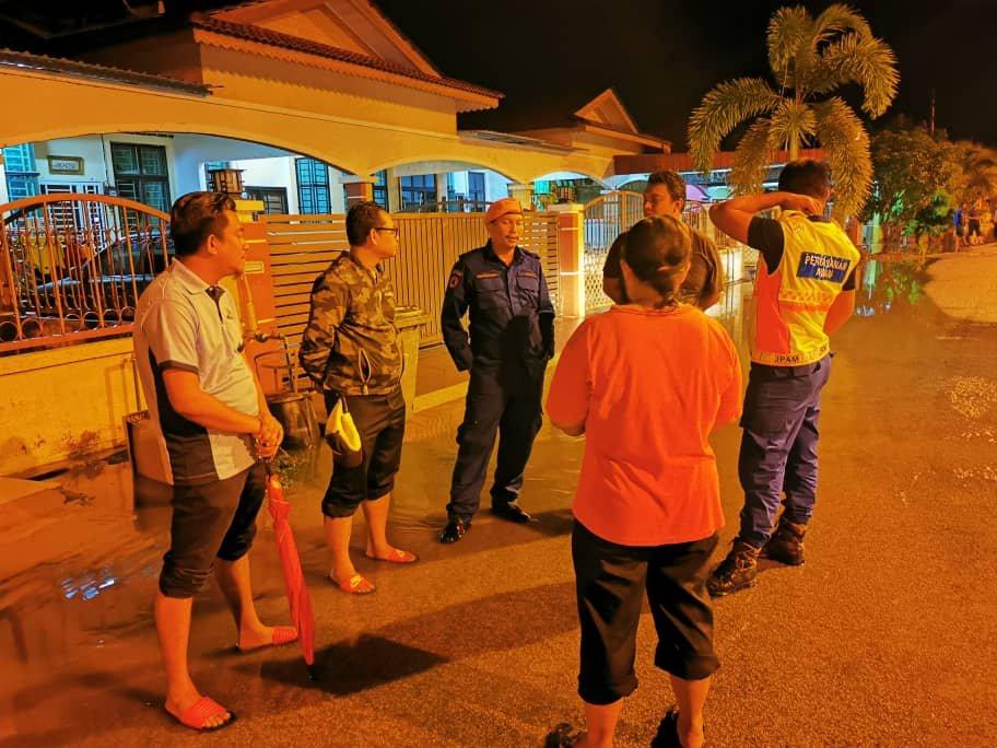 各单位的成员皆前往灾区提供援助。