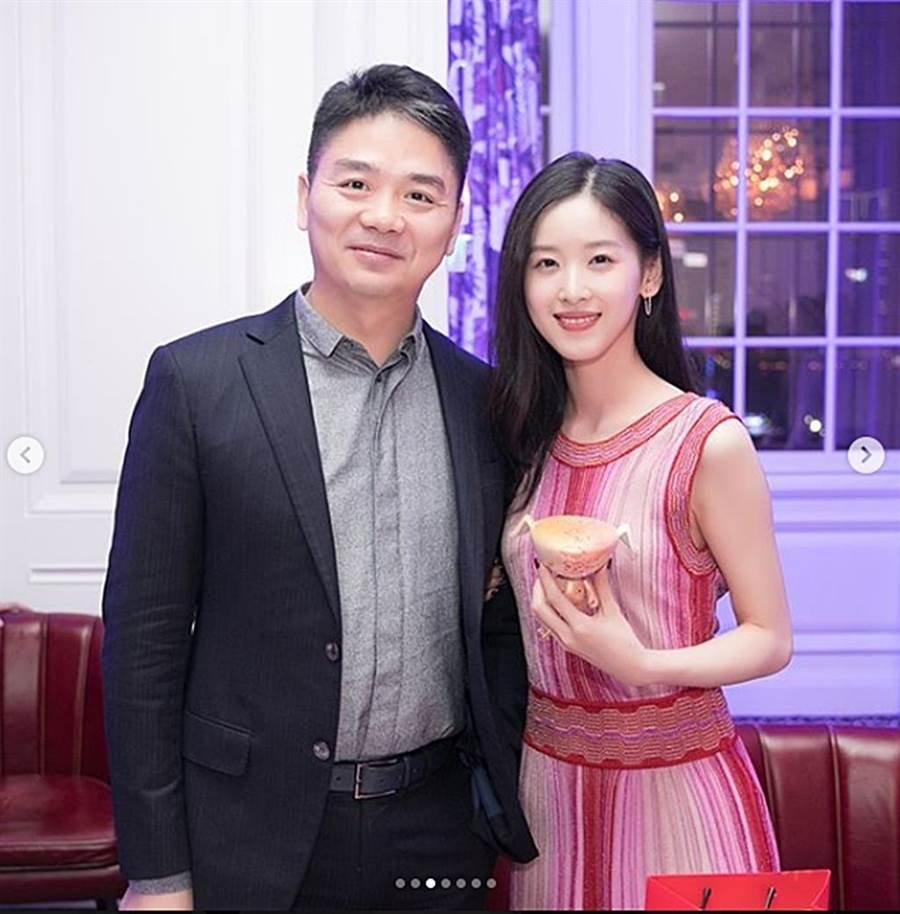 奶茶妹2015年和刘强东结婚。