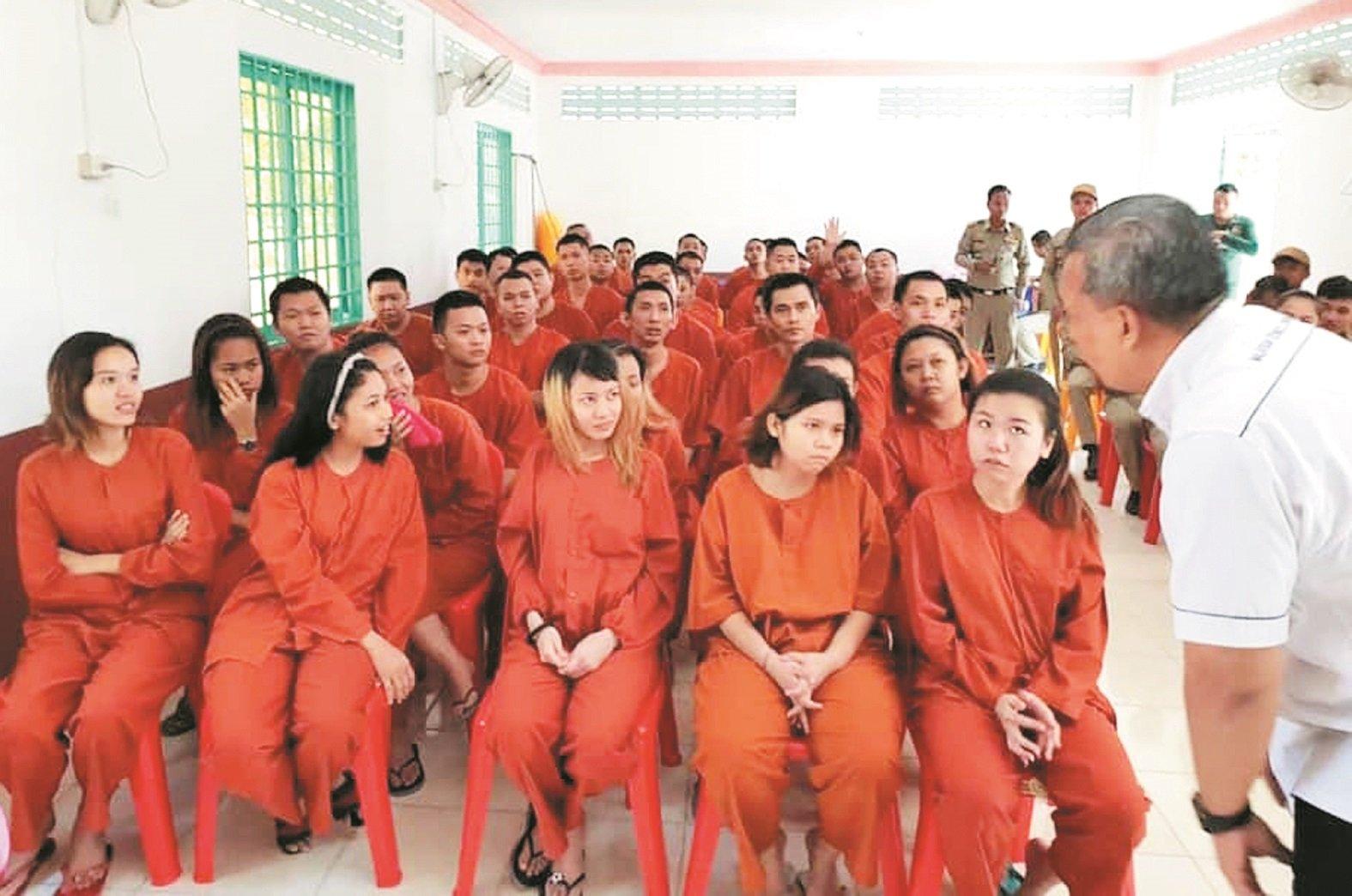 """47名大马人远赴柬埔寨""""淘金"""",结果蒙受无妄之灾入狱,经过了两个月扣 押,终于获释得以重返家园。"""