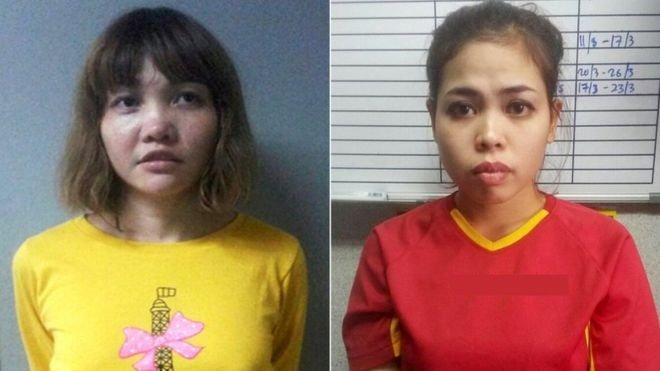 左起:越南籍及印尼籍女被告。