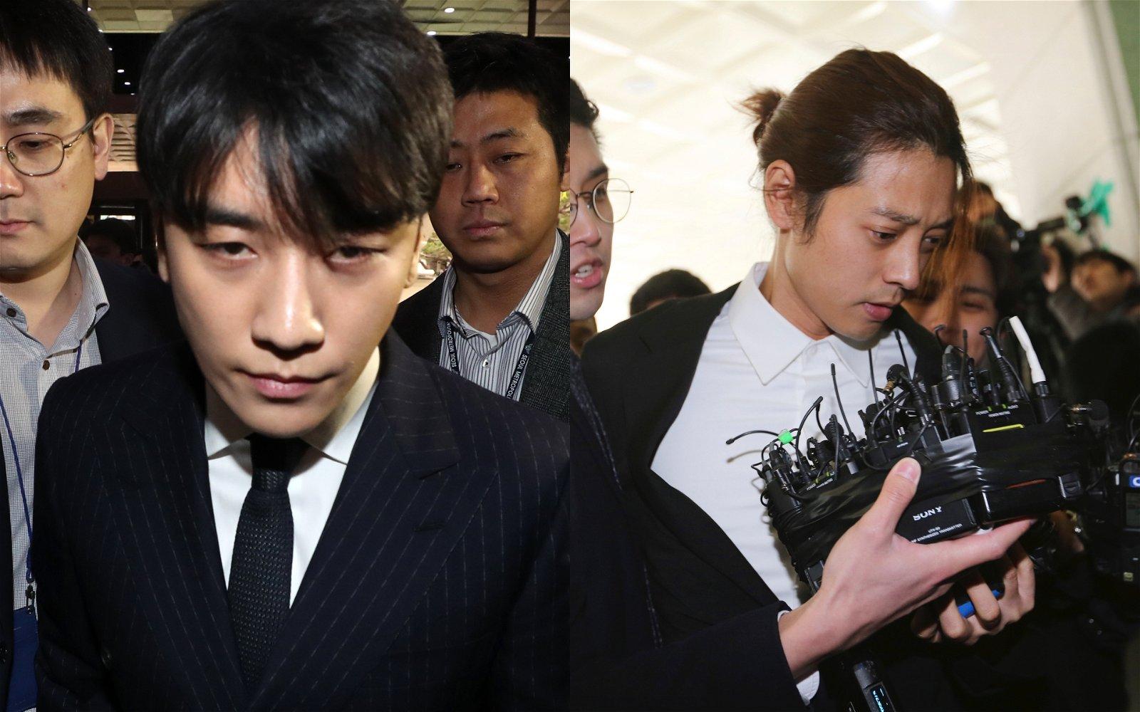 胜利性招待及郑俊英淫片事件,已经演变成韩国娱乐圈大丑闻。