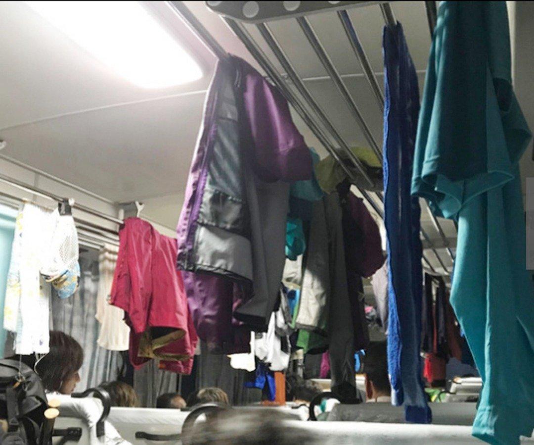 由绳文杉的登山口开往山脚的其中3辆巴士,当中的191名游客被迫小屋避难。有数十人滞留在巴士上,在车内晾干潮湿的衣物。