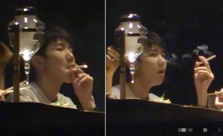 王源抽烟的画面流出,粉丝大喊崩溃。