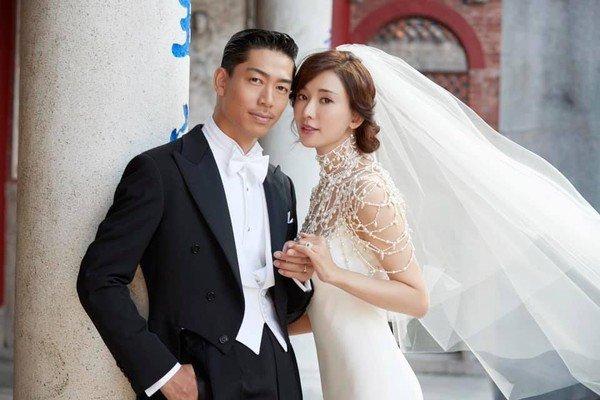 林志玲甜嫁AKIRA。