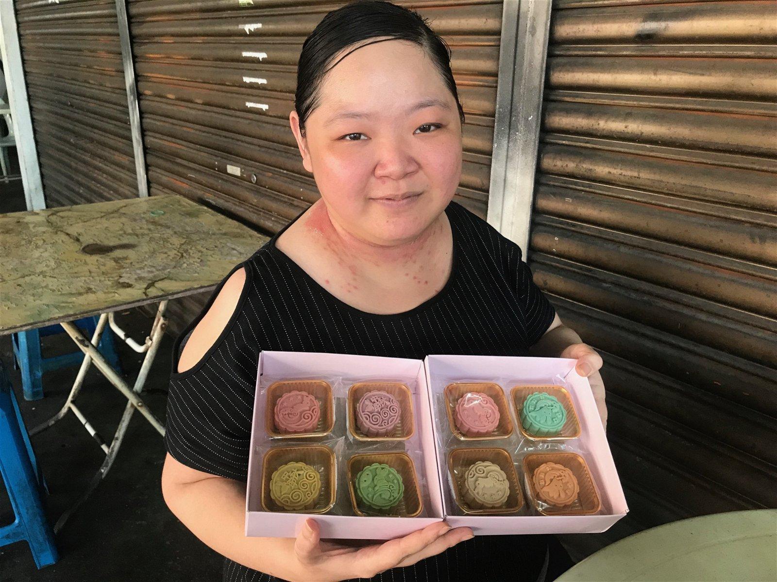 林淑婷披露,明年的中秋节或推出来自各国的月饼,让顾客大饱口福。
