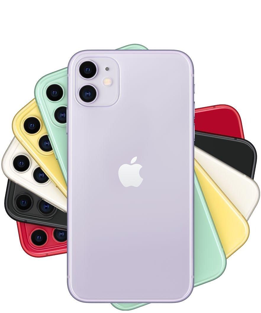 iPhone 11 6.1吋、双镜头,取代Xr成为入门级iPhone系列。